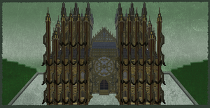 Weird Cathedral by skysworld