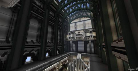 Minecraft-Space Hub by skysworld