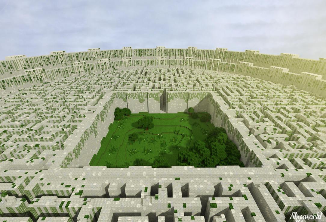 Minecraft Maze Runner by skysworld