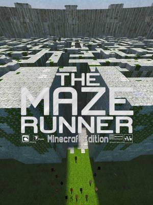 Minecraft Maze Runner poster by skysworld