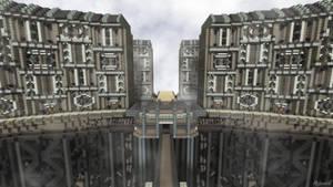Minecraft Cityscape