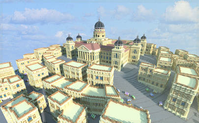 Minecraft Survival Games- The Citadel by skysworld
