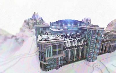Minecraft Snow Base by skysworld