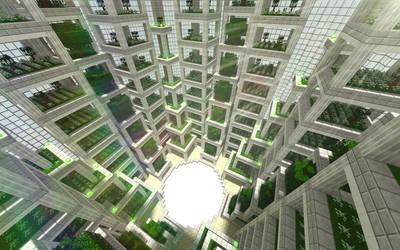Interior Garden by skysworld
