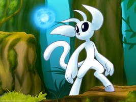 Ori and the Blind Forest by HoshiNoUsagi