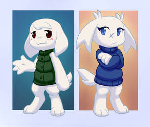Cave Story: Toroko and Sue