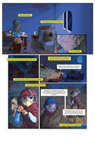 Robot Academy Comic Page by D-B-Dot-Com