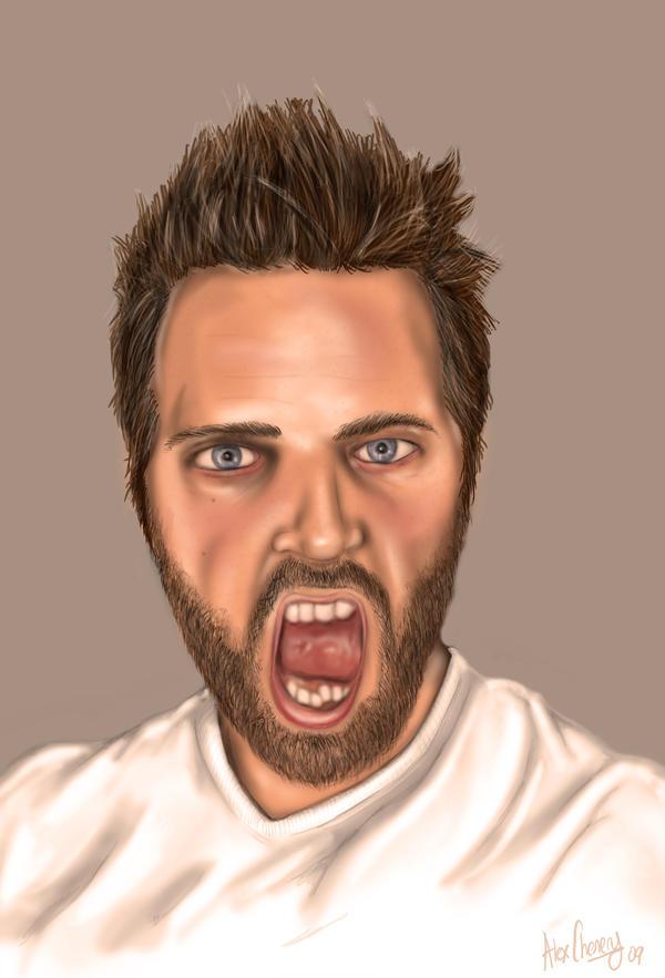 Self Portrait by D-B-Dot-Com