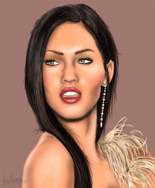 Megan the Fox by D-B-Dot-Com