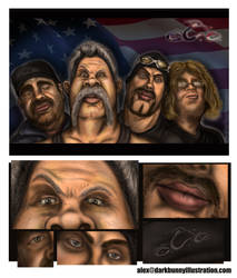 American Chopper Crew by D-B-Dot-Com