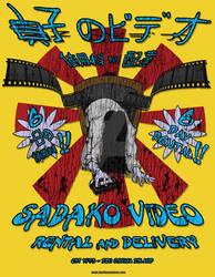 Sadako Video - T Shirt Design