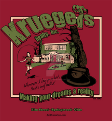 Kruegers Realty Movie T-Shirt