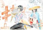 Samurai Deeper Kyou's fan art