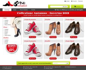 Site preview - shoes e-commerce 1