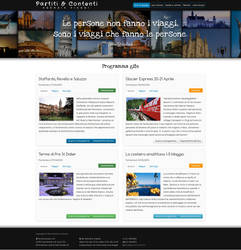 Site preview - travel agency