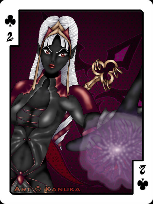 2 of Clubs by Kanuka76