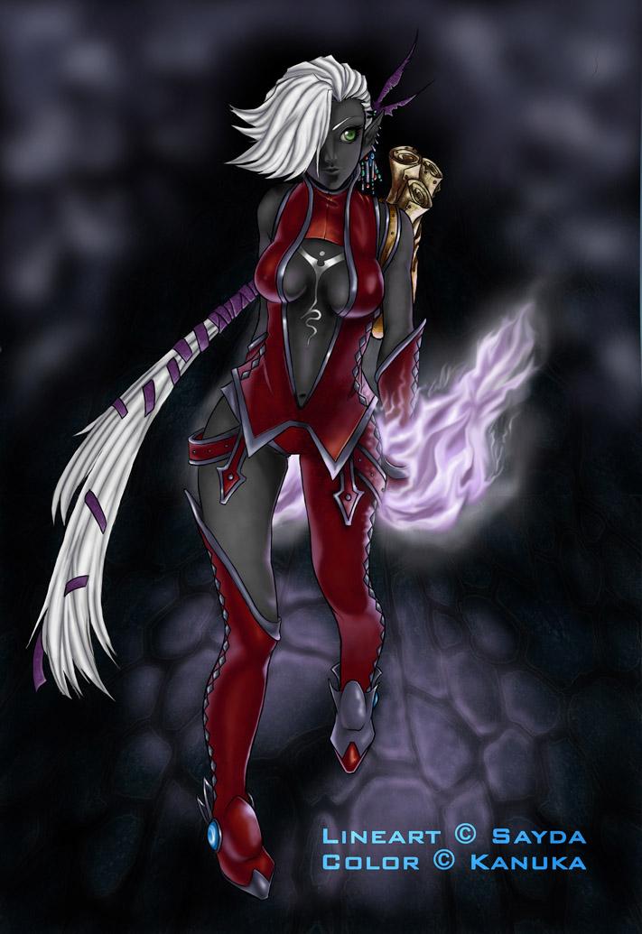 Sayda' spellscale by Kanuka76