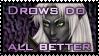 Drow stamp by Kanuka76