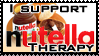 Nutella therapy stamp by Kanuka76