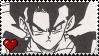 DBZ: Manga Vegetto Stamp by MammaCarnage