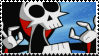 GAOBAM: Freaked Grim Stamp 2 by MammaCarnage