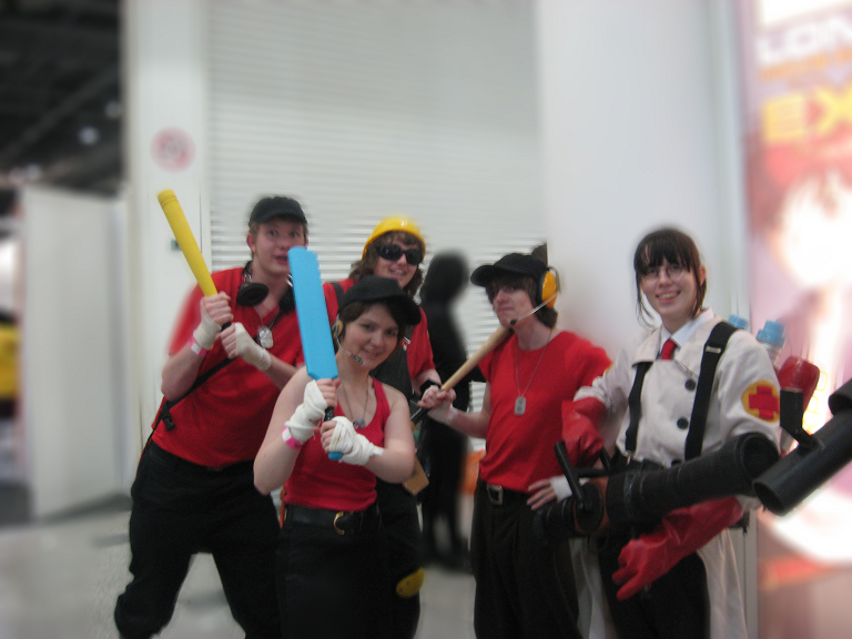 MayMCMExpo 2010: TF2 Red Team by MammaCarnage