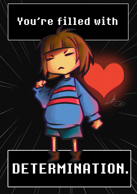 DETERMINATION by JellyChrysaora