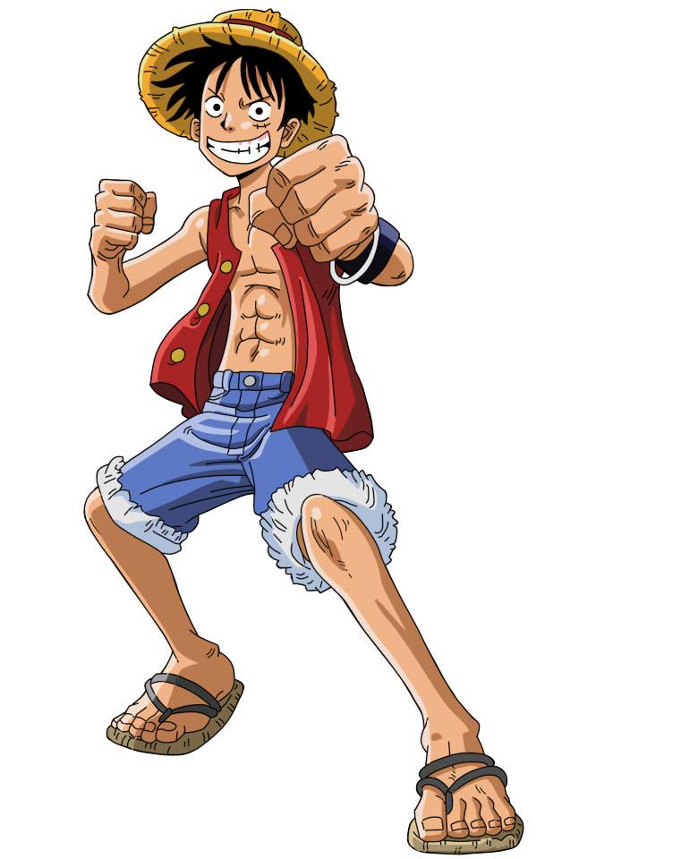 Luffy en Skypiea terminado by sandraPnFfan