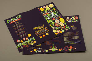 Farmers Market Brochure by inkddesign