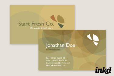 Environmentalist Business Card by inkddesign