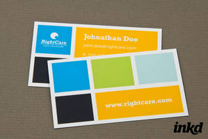 Healthcare with Colored Square by inkddesign