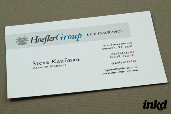 Corporate Insurance Business by inkddesign