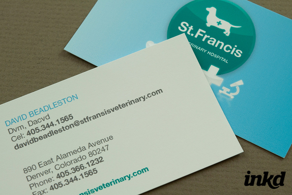 Veterinary Business Card by inkddesign on DeviantArt
