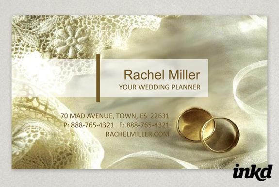 Wedding Planner Business Card by inkddesign on DeviantArt
