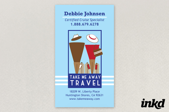 Travel agent business card by inkddesign on deviantart travel agent business card by inkddesign colourmoves