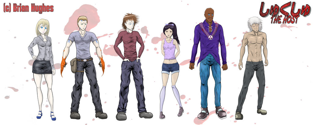 The Host - character designs