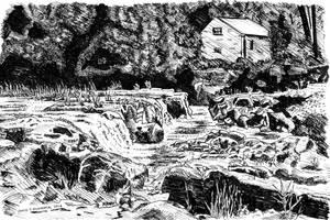 Cenarth Falls by chrisjrichards