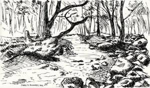 Snowdonia Speed Sketch by chrisjrichards