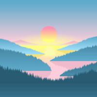 Valley Sunset by chrisjrichards