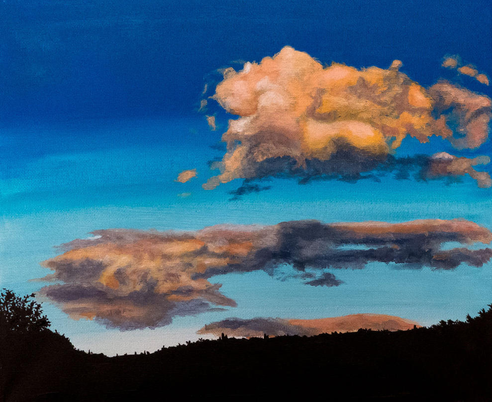 Cloud Study #1 by chrisjrichards
