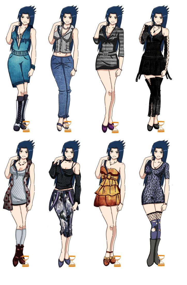 Naruto X Sasuko Sasuko Casual Outfits ...