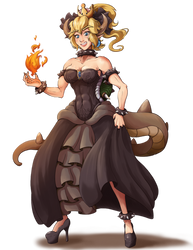My take on Bowsette