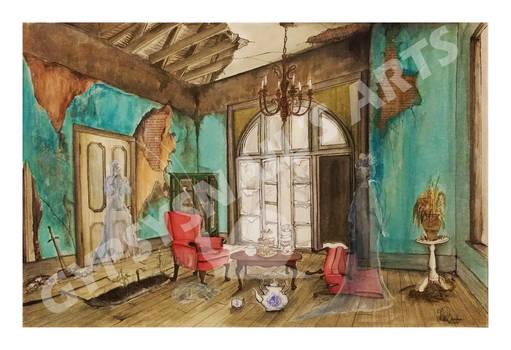 Abandoned High Tea II: The Lounge