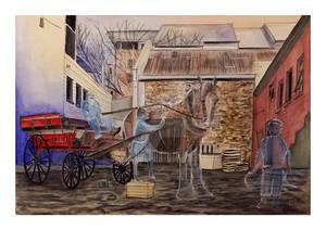 alleyway horse cart times