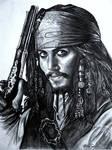 pirate pencil drawing