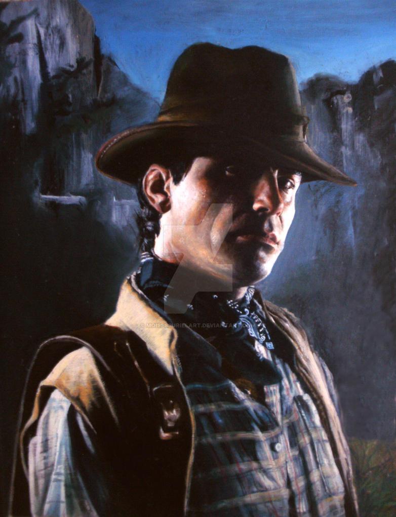 Cowboy by moisessurielart