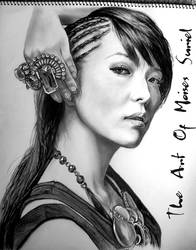 BoA Kwon KPOP Drawing