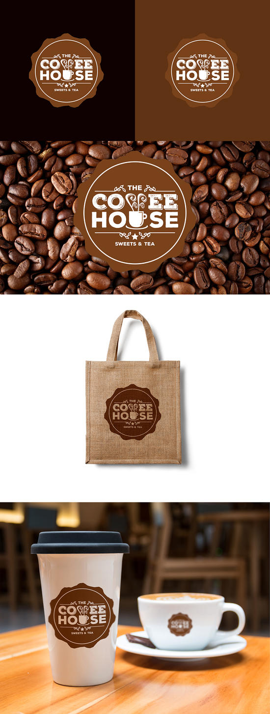 The Coffee House logo by lryvision