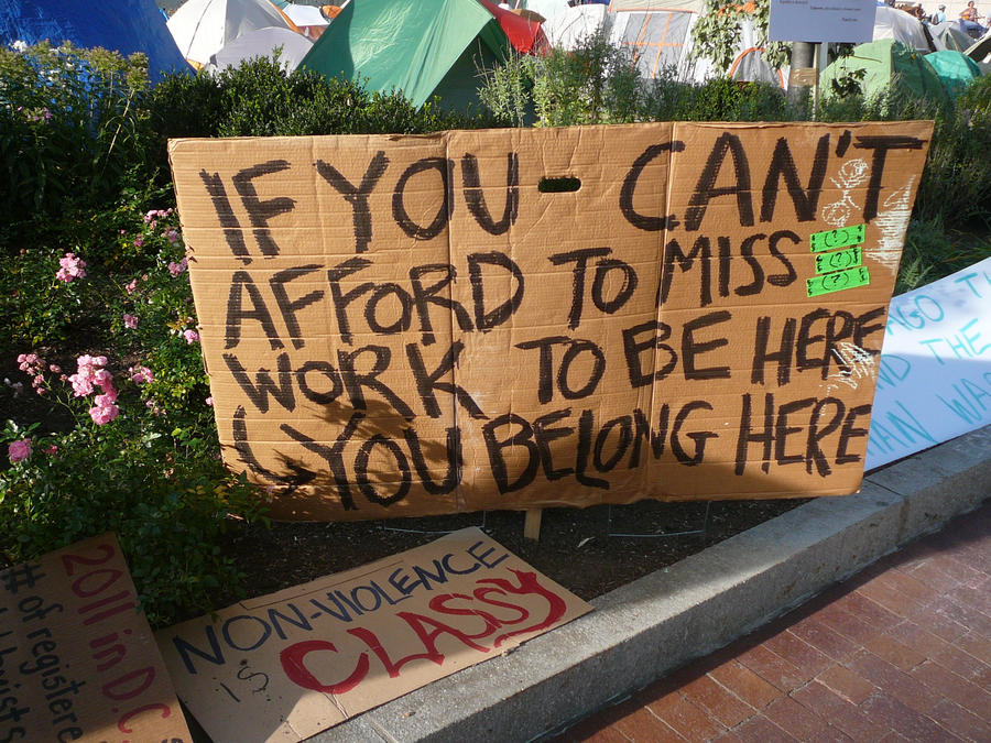 Occupy Boston - Work by KaraSkirata
