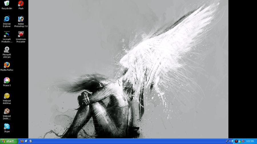 Desktop 10-04-2009 by Sabeku